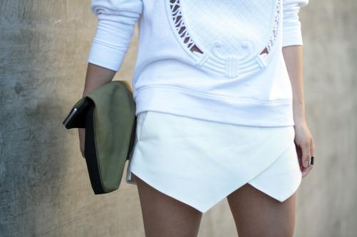 Look branco, saia branca com blusa branca, como usar, dicas
