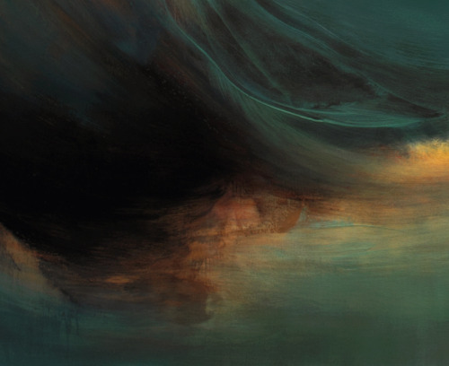 "detail: MUTINY, 60"" x 78"", oil, enamel & shellac on canvas, 2012, by Samantha Keely Smith."