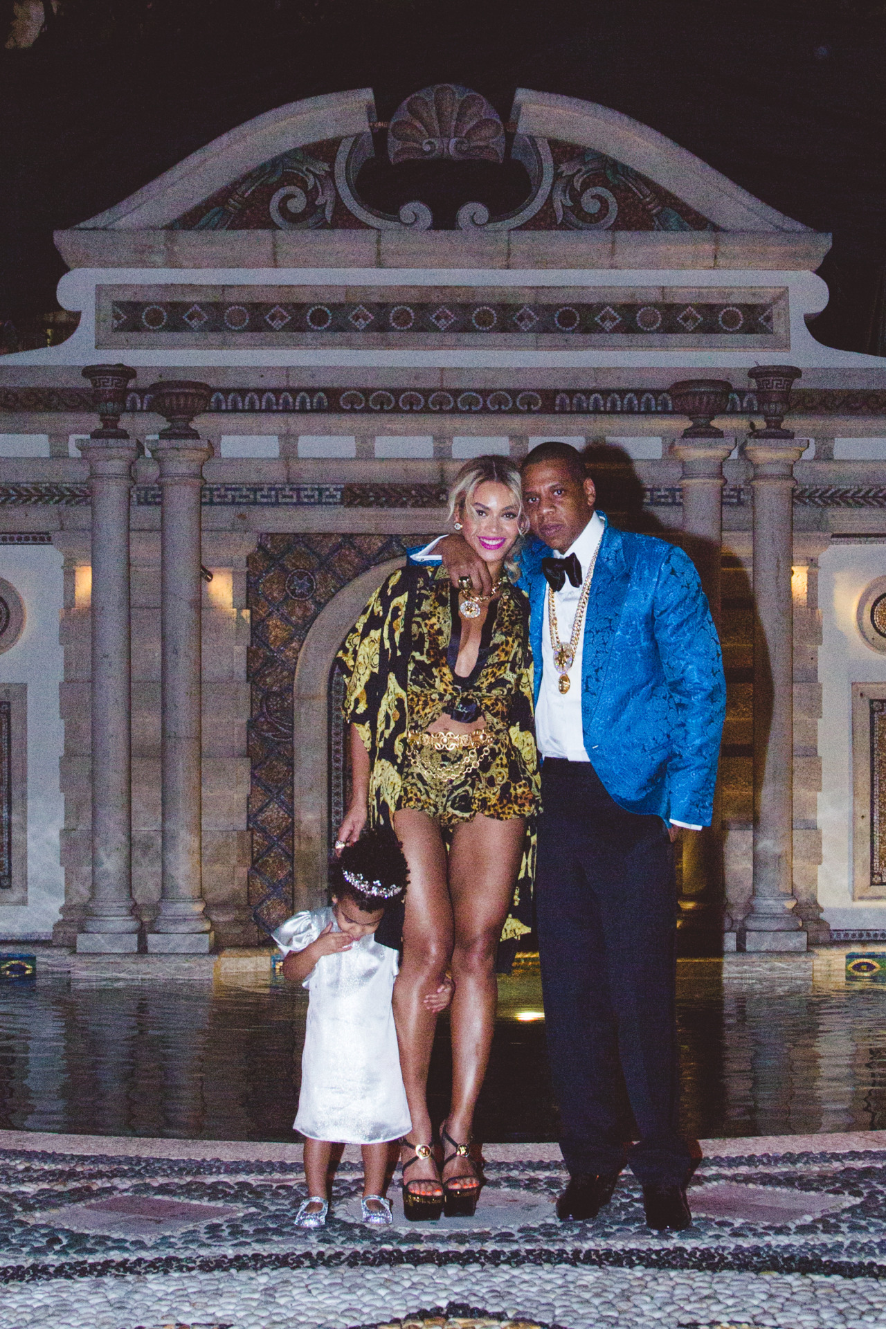 the carter family celebrate blue ivy's birthday