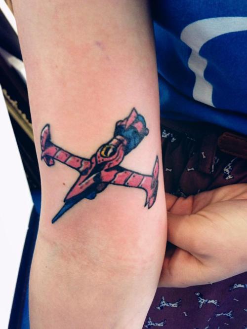 Cowboy Bebop Swordfish Tattoo