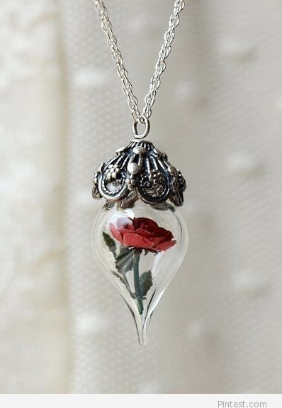 Rose necklace – Amazing / Pintast