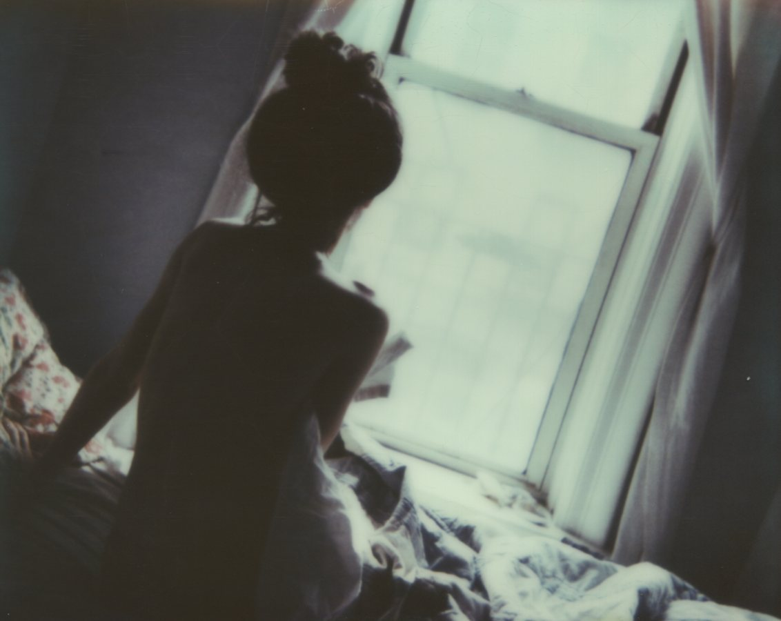 Rise and Shine, Self PortraitThe IMPOSSIBLE Project, CP PZ680 Film© Anna Marcell