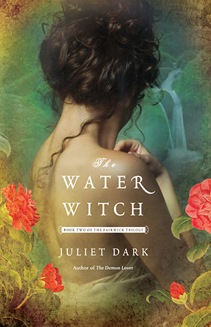 Title: The Water WitchAuthor: Juliet DarkPublisher: Ballantine BooksStatus: Available now*full disclosure: Free thanks to the publisher via NetGalley for my Honest Review.Description:(by goodreads.com)After casting out a dark spirit, Callie McFay, a professor of gothic literature, has at last restored a semblance of calm to her rambling Victorian house. But in the nearby thicket of the Honeysuckle Forest, and in the currents of the rushing Undine River, more trouble is stirring… .The enchanted town of Fairwick's dazzling mix of mythical creatures has come under siege from the Grove: a sinister group of witches determined to banish the fey back to their ancestral land. With factions turning on one another, all are cruelly forced to take sides. Callie's grandmother, a prominent Grove member, demands her granddaughter's compliance, but half-witch/half-fey Callie can hardly betray her friends and colleagues at the college. To stave off disaster, Callie enlists Duncan Laird, an alluring seductive academic who cultivates her vast magical potential, but to what end? Deeply conflicted, Callie struggles to save her beloved Fairwick, dangerously pushing her extraordinary powers to the limit—risking all, even the needs of her own passionate heart.My Review: So lol this book. When I requested it from Netgalley I didn't realize it was the second in the series but luckily it didn't really matter the author gave you enough background to know what was going on without having read the first one. Also it seemed that if you had read the first one, the background details weren't gone through in the play-by-play method that P.C. Cast uses that annoyed the hell out of me. (why did I waste all that time on that YA vampire series I do not know -__- )Anyway this book was entertaining I know I found it humorous when it wasn't meant to be but it was cheesy bad but in a good way.  There were elements of danger, and the love scenes were … sorry funny but all and all I'm not sorry I read it. I might go back and read the first one we'll see.Overall Rating: 4.5/7