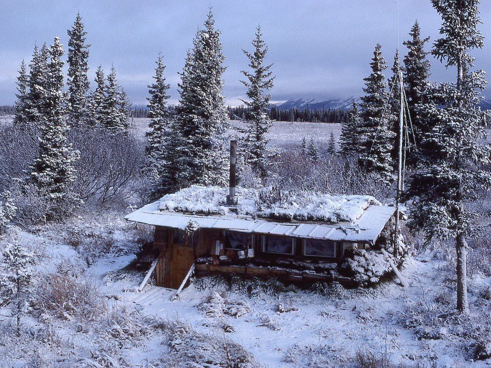 """Little House on the Tundra"" along the Kobuk River, Alaska.Submitted by Zan Crawkenna."