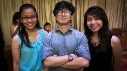And finally, Seto, Chin Yih and Asmi!