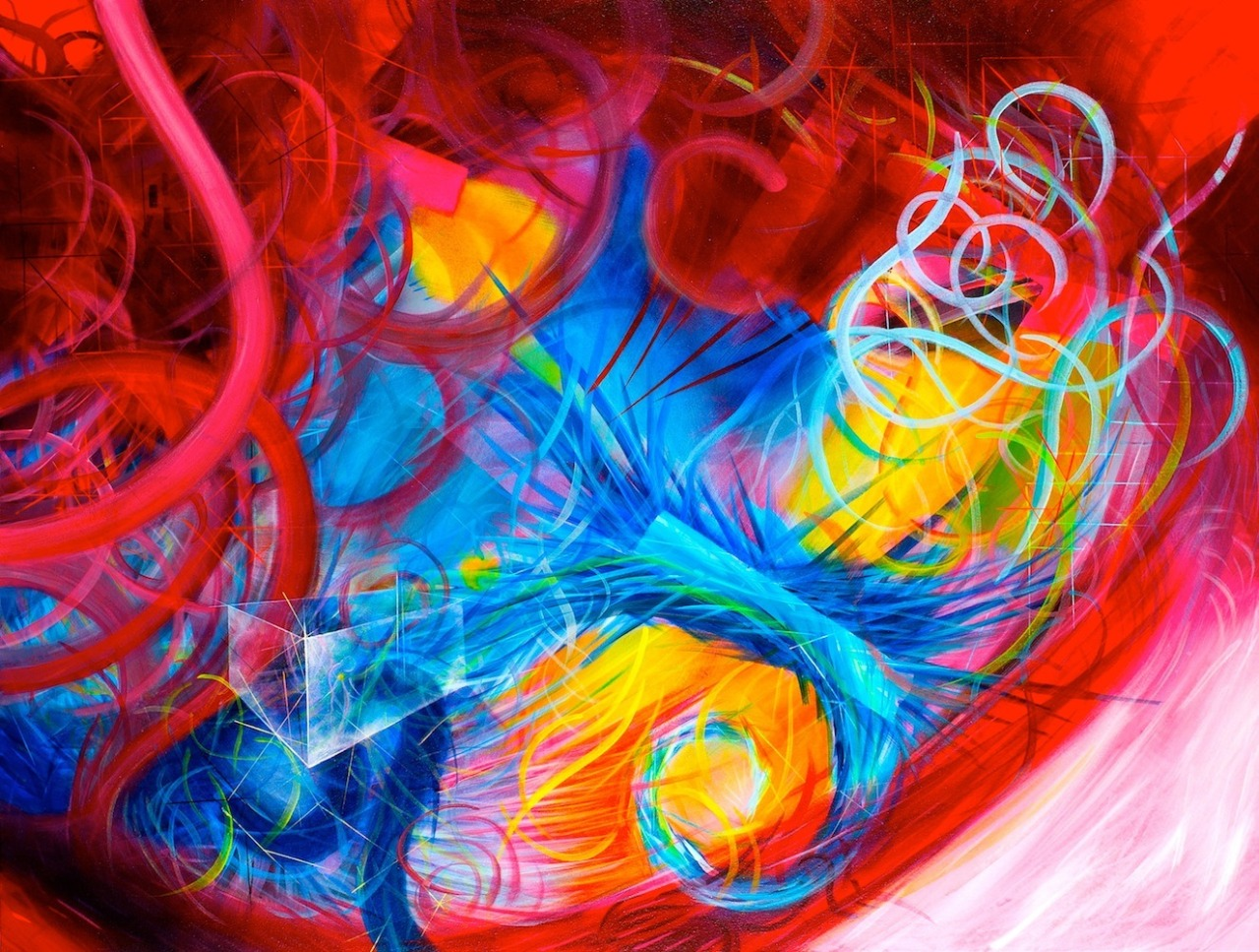 acrylicalchemy:</p> <p>Michael Carini | Acrylic on Canvas<br /> If you're a fan of my work, can you please help boost my rating HERE :)</p> <p>COLORS AND MORE COLORS!<br /> WE NEED MORE COLOR IN OUR LIVES.<br /> WE CAN'T LIVE IN BLACK AND WHITE.<br /> WE MUST ENJOY LIFE TO THE FULLEST.