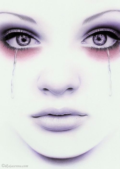 Watercolored Tears by Rajacenna