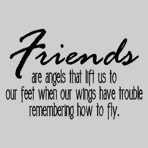 Quotes About Friendships Prepossessing Friendship Quotes Friends Are Angels That Lift Us Up To Our Feet