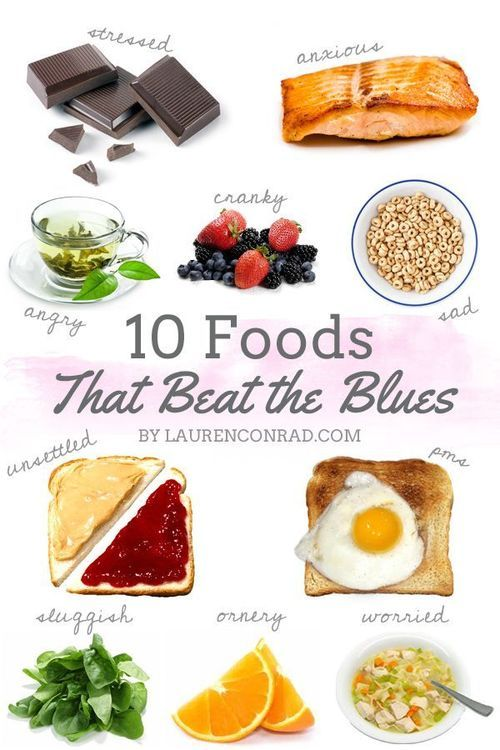 10 foods to beat the blues