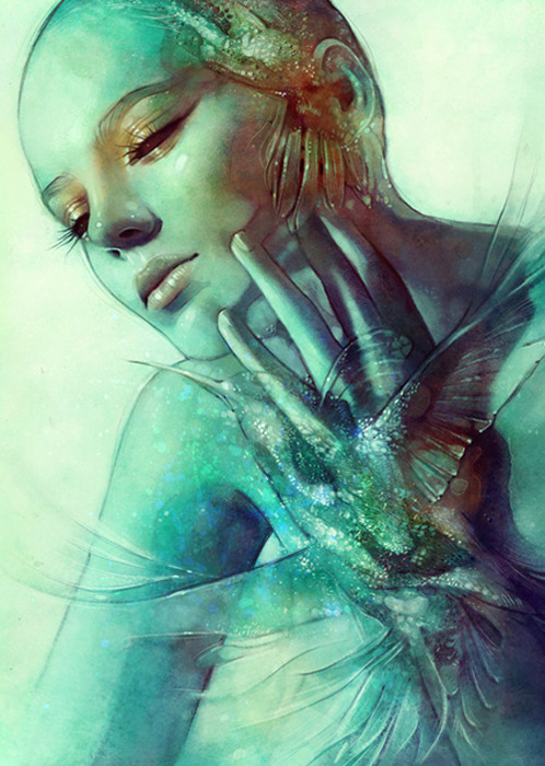 septagonstudios:</p> <p>Anna Dittmann<br /> HOVER</p> <p>During our lives, we all go<br /> through metamorphosis.<br /> We change daily.<br /> Some days, we look in the mirror<br /> and don't even recognize ourselves.<br /> But deep down, we are the same,<br /> we are who we are and nothing or<br /> no one is going to change that.<br /> So remember to be yourself<br /> because that is who you are<br /> destined to be.