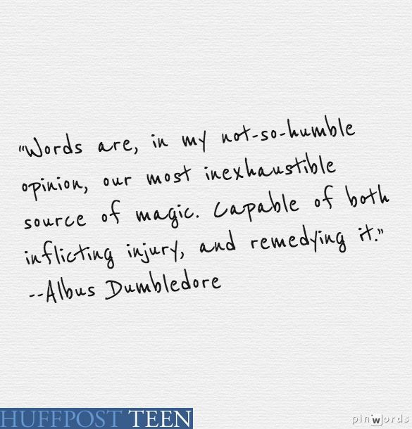 harry potter quotes comforting words of wisdom from albus
