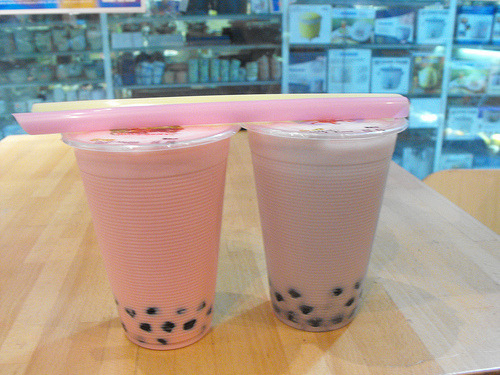 Image result for bubble tea pink