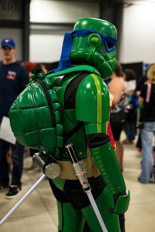 cosplay stormtrooper teenage mutant ninja turtle