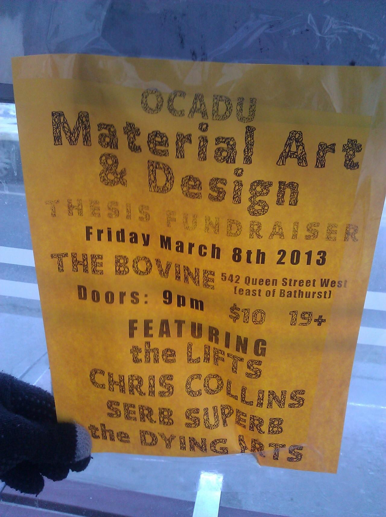 OCADU Material Art & Design