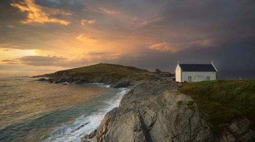 "photographyweek:The Old Lifeboat House by William Razzell""I have visited Newquay in the UK several times so when there was a rapidly passing storm in the evening I knew that this spot, overlooking the Fistral headland, would be great for when the clouds began to clear.""View more of William's photography.Image copyright William Razzell and used with permission.__See the world's most inspirational images every Thursday in Photography Week. Get five free issues today at http://bit.ly/RHzJmN"
