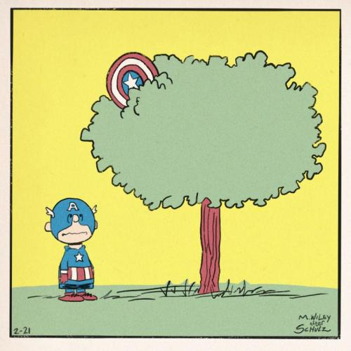 charlie brown vs captain america