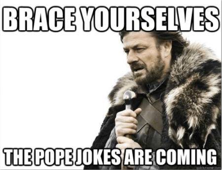 Pope Joke