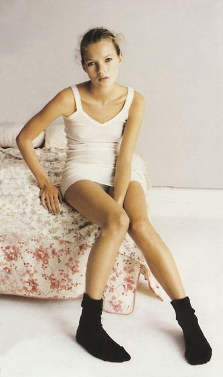 kate-jam-and-diamonds:by Mark Borthwick for Allure Magazine December 1993