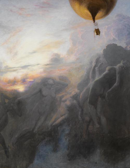 monsieurleprince: Emile Friant (1863 - 1932) - Voyage à l'infini, 1899