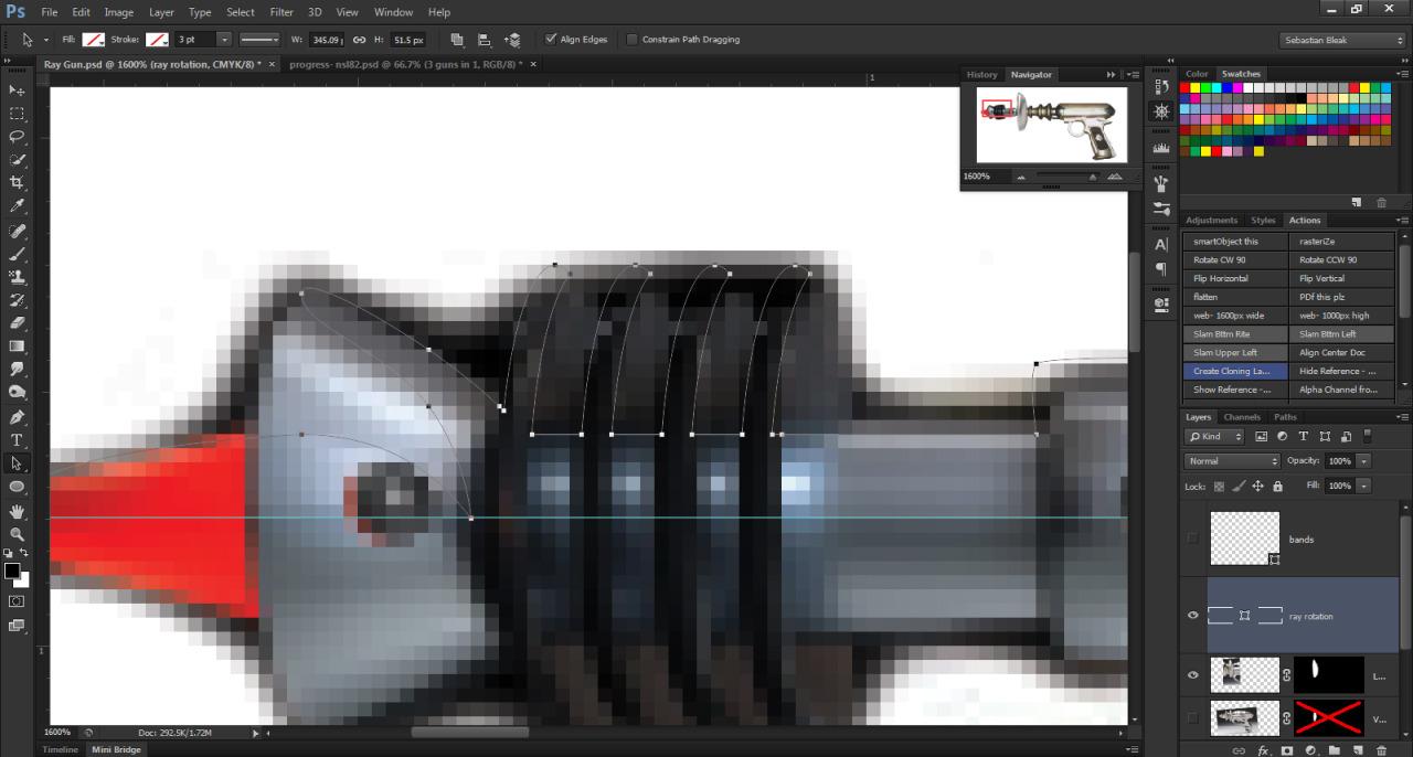 Pen Tool techniques for Photoshop