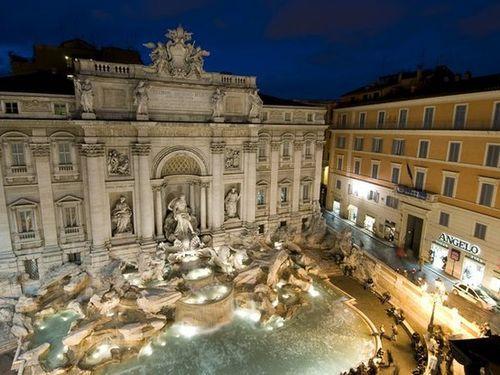 Trevi Çeşmesi, Roma.