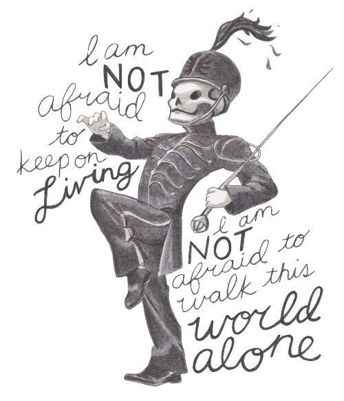 Black Parade My Chemical Romance Tattoos
