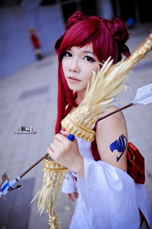 Erza Scarlet cosplay - Fairy Tail by sieg