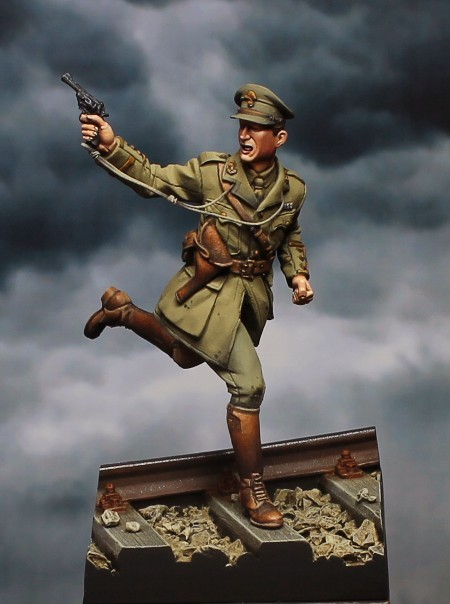 British Officer - Mons - 1914 / Tommy´s War - 54mm