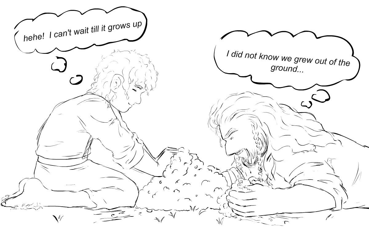 Dwarves Are Plants