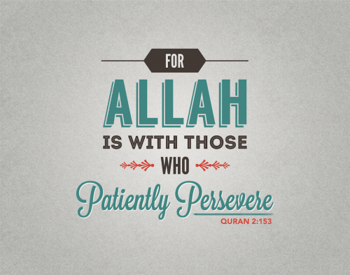 Patience and perseverance, tolerance and forbearance are common traits of the successful people.www.lionofAllah.com