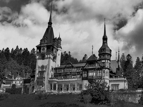 mortisia:</p> <p>Peles Castle<br /> DOES THIS CASTLE HAVE A CREEPY HISTORY?<br /> HAVE BODIES BEEN FOUND OVER THE YEARS?<br /> ARE THE HALLS DARK WITH SHADOWS?<br /> DO PEOPLE DISAPPEAR—NEVER TO BE SEEN AGAIN?<br /> IT MIGHT AS WELL HAVE A DARK HISTORY<br /> SINCE I CAN SEE IT IN MY MIND'S EYE.<br />