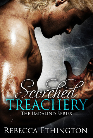 GUESS WHAT COMES OUT TODAY!!!!!????????? Rebecca Ethington's new book Scorched Treachery. It's the third in her amazing series and I can't wait for you guys to check it out. Run, do not walk. Seriously. The cover is swoon-worthy but the book is even better.    EXCERPT: Through Glass   Everyone remembers the day the sky went black. They remember the screams as the blackness ate those who were out in the open, those who surrounded themselves by light, and those who made noise. Everyone remembers the voice from the sky, the way food disappeared. Everyone remembers the day the sky went black, and the sun was wiped from the sky. At least that's what I hope. I hope that there is an 'everyone' that will remember. I hope that I am not alone. Because I remember. I remember, because it was the day I became alone. It was the day the house went silent, and the birds stopped singing. It was the day when everyone disappeared, everyone except the boy, the only person I have seen in two years. The boy I talk to through the glass. -Alexis Lyman, aged 19 [[MORE]] Scorched Treachery Blurb  While Joclyn is trapped in the tormenting hell of Cail's mind, the battle around her only continues to grow and spread. * Edmund has infiltrated the underground hallways of Prague, guiding the massacre that would end the lives of the last of the great magical race. In her attempts to stop him, Wynifred has been captured and her magic restrained. Chained up in the ancient dungeons of Prague, her fate is left in the hands of her father, who has tried to kill her before. With Ryland's screams and Sain's fragmented sights as her only company, Wyn must rely on something that has been hidden deep inside of her for centuries to help them break free.  * Ilyan's whole life has been building up to one purpose. Protect the Silnỳ. He knows what he must do, and he has no doubt in his ability to do so. But when his father's magic removes Joclyn's mind from her body, he is left protecting the shell of the one person he loves. Desperate to find a way to break her free of her prison, he makes a choice. And that one choice changes everything. Now, Ilyan finds himself bound to Joclyn in a way that he never knew to be possible. They say that blood is thicker than water, but Black Water burns, and Ilyan's heart may not be strong enough to keep the water pumping through his veins and give the girl he loves back into his brother's care. Even if he can, it may not be safe to do so. Reading order: Kiss of Fire (1), Eyes of Ember (2), Scorched Treachery (3) Amazon: http://amzn.to/15o4cKI B & N: http://bit.ly/1586q10 Kobo: http://bit.ly/158zC89 Text, links, and synopsis Author Links: Goodreads: https://www.goodreads.com/Rebecca_Ethington  Amazon author: http://www.amazon.com/-/e/B009ZNTLPS Barnes and Noble: http://www.barnesandnoble.com/c/rebecca-ethington Website: www.rebeccaethington.com Facebook: https://www.facebook.com/rebeccaethington.author Twitter: @RebEthington   Buy links, Kiss of Fire: Amazon Buy link: http://www.amazon.com/Kiss-Fire-Imdalind-Series-ebook/dp/B009ZF5SLM/ref=cm_cr_pr_product_top Barnes and Noble: http://www.barnesandnoble.com/w/kiss-of-fire-rebecca-ethington/1113727795 Kobo: http://www.kobobooks.com/ebook/Kiss-of-Fire/book-oySrjbyN7kqTqUmgiKoNiw/page1.html Goodreads: http://www.goodreads.com/book/show/17280547-kiss-of-fire   Buy Links, Eyes of Ember: Amazon: http://www.amazon.com/Eyes-Ember-Imdalind-Series-ebook/dp/B00C7RR28M/ref=tmm_kin_title_0?ie=UTF8&qid=1365433960&sr=1-2 Barnes and Noble: http://www.barnesandnoble.com/w/eyes-of-ember-rebecca-eithington/1115026792?ean=2940016776385 Kobo: http://www.kobobooks.com/ebook/Eyes-of-Ember/book-HRGBgGh5P0-DTJJiByUPNQ/page1.html?s=FJ2GQHb3L0acaFe-OdpKPQ&r=1 Goodreads: http://www.goodreads.com/book/show/17304097-eyes-of-ember       About the Author Rebecca Ethington is a story teller and author from Salt Lake City, Utah. She has been telling stories since she was small. First, with writing crude scripts, and then in stage with years of theatrical performances. Rebecca's first stint into the world of literary writing, The Imdalind Series, was released in October 2012 and since its release each book has been found in several