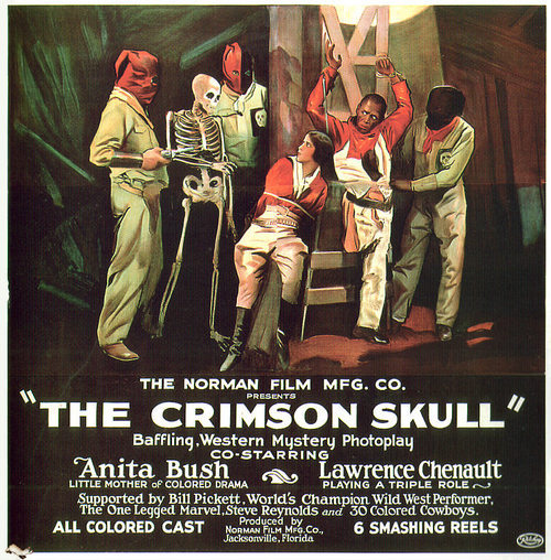 Crimson Skull 1923 You have to wonder how many films these days would be improved simply by the addition of The One Legged Marvel Steve Reynolds & 30 Colored Cowboys.