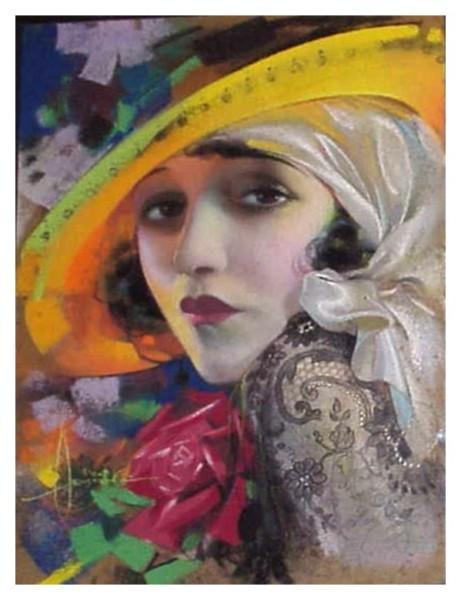 Miss Bebe DanielsArtist: Rolf Armstrong, circa: 1920s