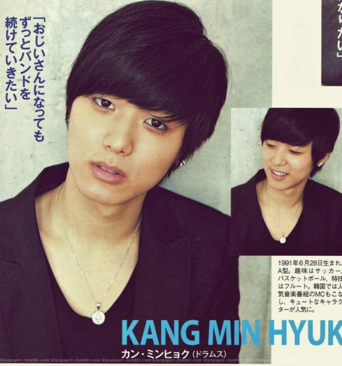 CN Blue - Minhyuk @ BITEKI Dec Issue Cr: kawa-lily2More: BITEKI Dec Issue