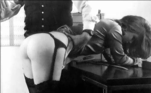 retro spanking captions