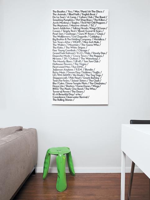 my list art
