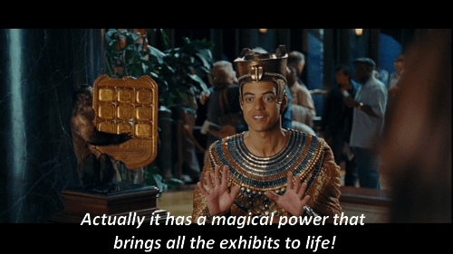 Pharaoh Akhmenrah Night at the Museum