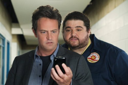 """Posted on the LOST Facebook page today: """"Dude, that dude from Mr. Sunshine looks familiar…"""" Mr. Sunshine (with guest star Jorge Garcia!) debuts tonight at 9:30/8:30c on ABC, right after Modern Family. Bonus video: Matthew Perry talks LOST with Jimmy Kimmel. Perry: """"[LOST]'s my favorite thing in the history of entertainment."""""""