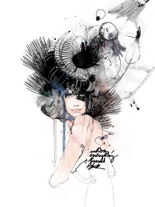 Stylish Digital Art Illustrations by Raphael Vicenzi (mydeadpony)