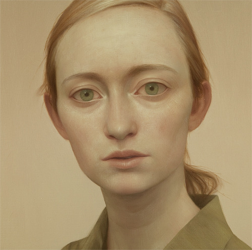 Tabitha #8, oil on panel, 18 x 18 inches, 2011
