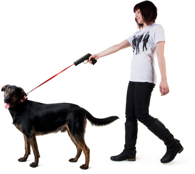 Leash That Looks Like A Fired Gun