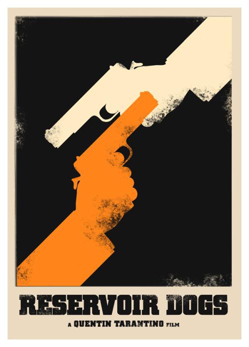 Alternate Movie Poster Designs For Tarantinos Reservoir Dogs
