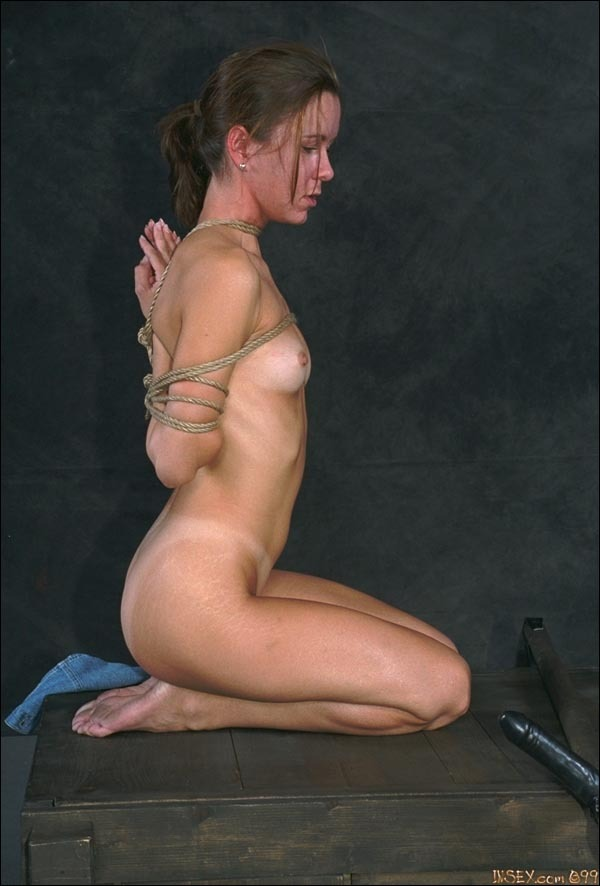 Prayer bondage reverse wooden pony