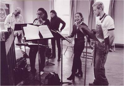Rent Original Broadway cast rehearsal
