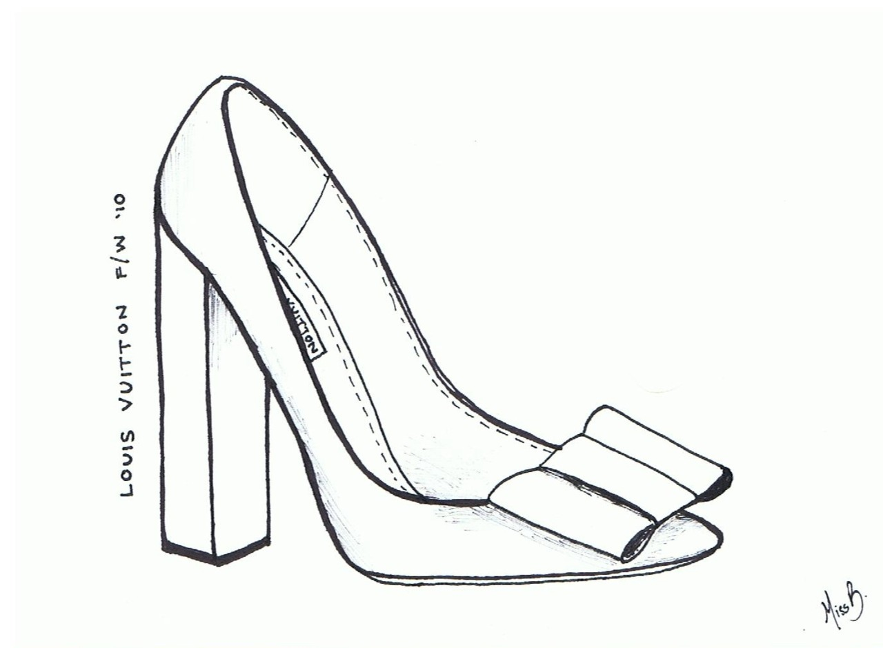 Louis Vuitton S Bow Heels By A Girl A Style
