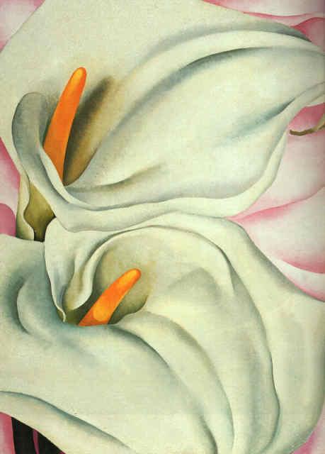 Calla Lilies by Georgia O'Keeffe