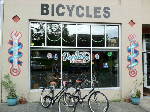 Defiance Bicycles.