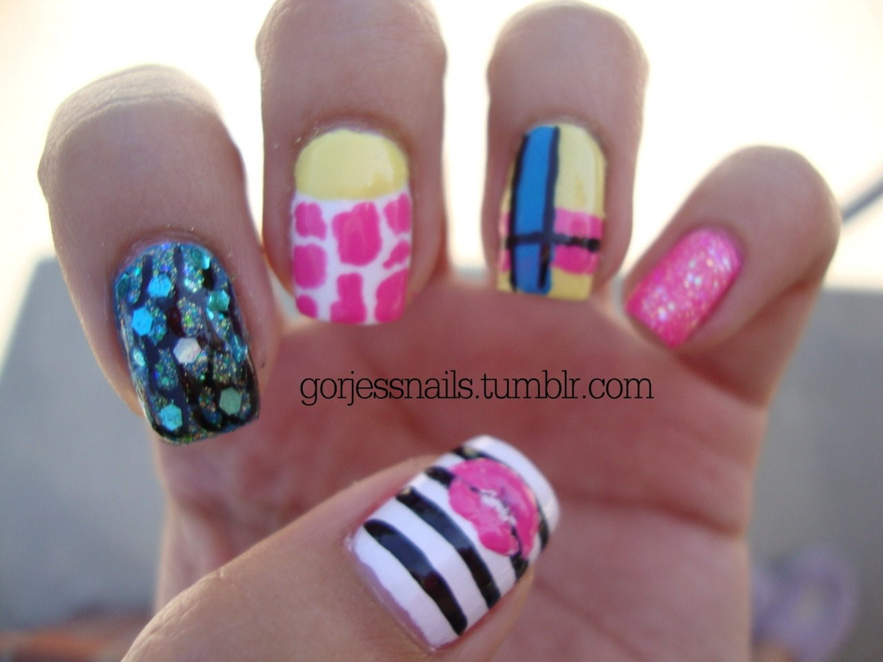 Nicki Minaj 3d Nail Designs