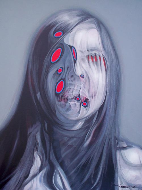 Creepy Paintings by Buddy Nestor